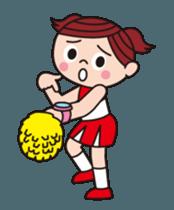 Pompon Chiaki (English ver.) sticker #12016458