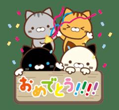 SASURAI NO TABINECO, MIKEMURA-SAN sticker #12017825
