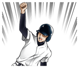 Baseball stickers2 sticker #12026471