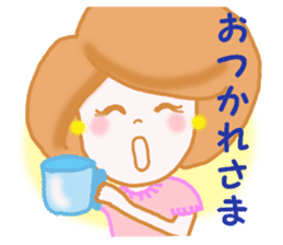 OFFICE LADY KYOKO 2 sticker #12027620