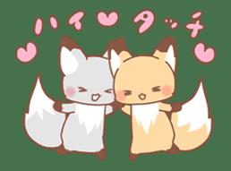 moving fox sticker #12029958