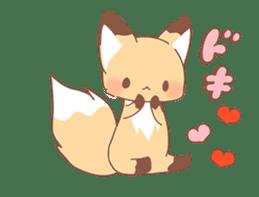 moving fox sticker #12029970