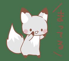 moving fox sticker #12029971