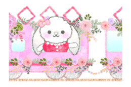 Message of a lop eared rabbit -movie1- sticker #12032243