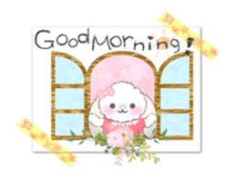 Message of a lop eared rabbit -movie1- sticker #12032248