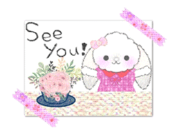 Message of a lop eared rabbit -movie1- sticker #12032253