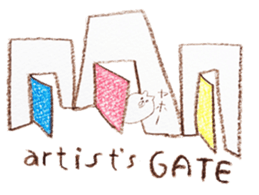 artist's GATE sticker #12034214