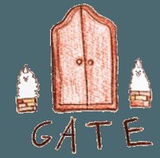 artist's GATE sticker #12034224
