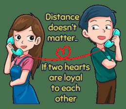 LDR Couple Story 2 sticker #12035521