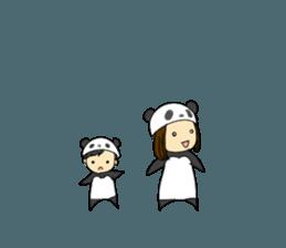 Parent and child of pannda sticker #12041908