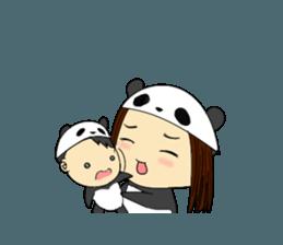 Parent and child of pannda sticker #12041909