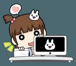 OL cute + sticker #12045803