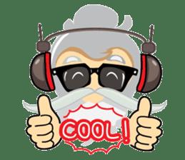 Hipster Jiji sticker #12046078
