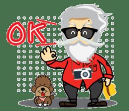 Hipster Jiji sticker #12046081