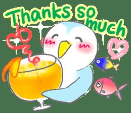 Sweet Penguin -I like you !- sticker #12048087