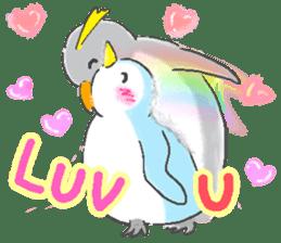 Sweet Penguin -I like you !- sticker #12048090