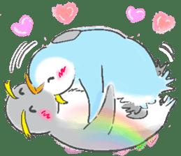 Sweet Penguin -I like you !- sticker #12048091