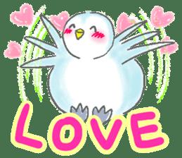 Sweet Penguin -I like you !- sticker #12048100