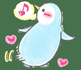 Sweet Penguin -I like you !- sticker #12048101