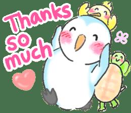 Sweet Penguin -I like you !- sticker #12048102