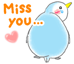 Sweet Penguin -I like you !- sticker #12048108
