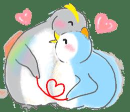 Sweet Penguin -I like you !- sticker #12048111