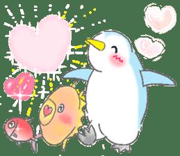 Sweet Penguin -I like you !- sticker #12048119