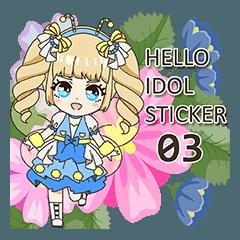 Hello Idol Sticker 03