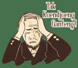 Djaman Doeloe: Ganteng Edition sticker #12050070