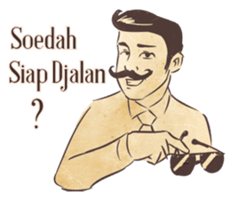 Djaman Doeloe: Ganteng Edition sticker #12050082