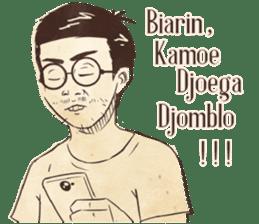 Djaman Doeloe: Ganteng Edition sticker #12050100