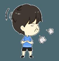 Loma playful boy + sticker #12061143