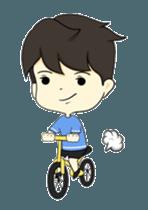 Loma playful boy + sticker #12061155