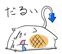 Cat , such as rice cake sticker #12064583