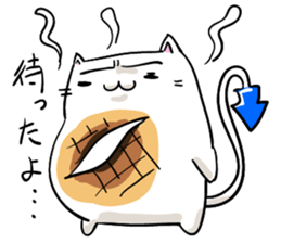 Cat , such as rice cake sticker #12064590