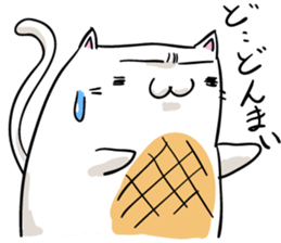 Cat , such as rice cake sticker #12064592