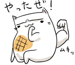 Cat , such as rice cake sticker #12064601