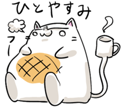 Cat , such as rice cake sticker #12064616
