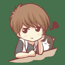 Centilia's Boyfriend : Raei sticker #12071179