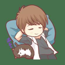 Centilia's Boyfriend : Raei sticker #12071181
