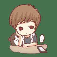 Centilia's Boyfriend : Raei sticker #12071199