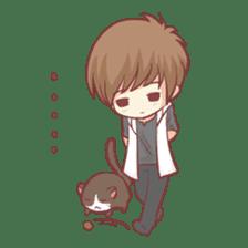 Centilia's Boyfriend : Raei sticker #12071200
