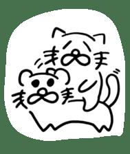 cat ? dog ? ver.4 sticker #12072772