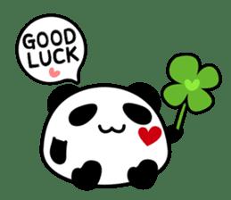 Panda maru - GOOD LUCK sticker #12080534