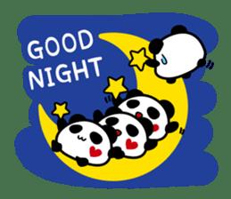 Panda maru - GOOD LUCK sticker #12080537
