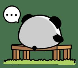 Panda maru - GOOD LUCK sticker #12080540