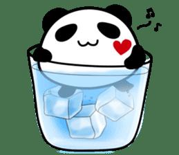 Panda maru - GOOD LUCK sticker #12080543