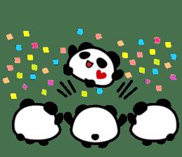 Panda maru - GOOD LUCK sticker #12080544