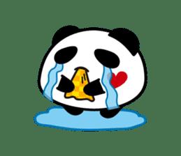 Panda maru - GOOD LUCK sticker #12080552