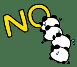 Panda maru - GOOD LUCK sticker #12080558